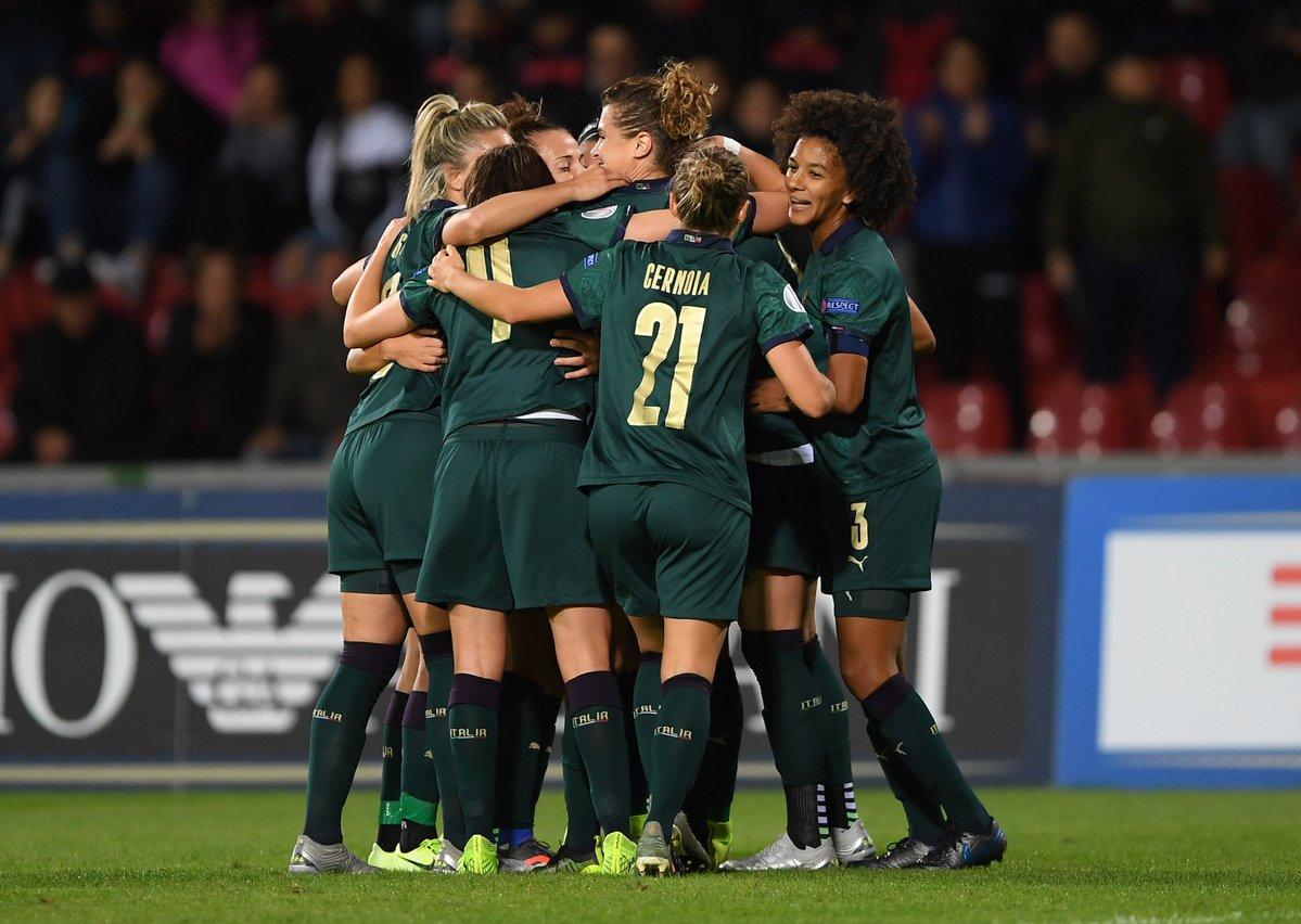 Qualificazioni Europei 2021 Femminile- Italia travolge in modo tennistico 6-0 la Georgia