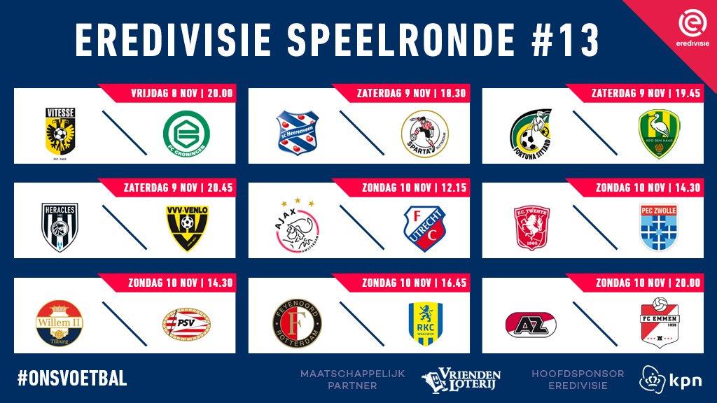 In Olanda, saluta l'Ajax e AZ sempre più secondo