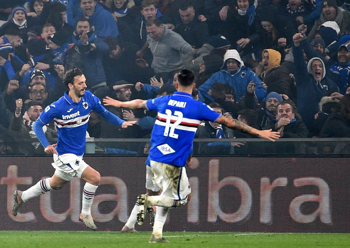La Lanterna è blucerchiata: Gabbiadini stende il Genoa e Sampdoria che vince il derby