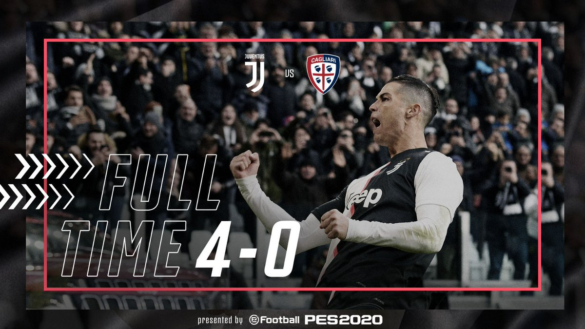 La Juventus cala il poker e Ronaldo la tripletta