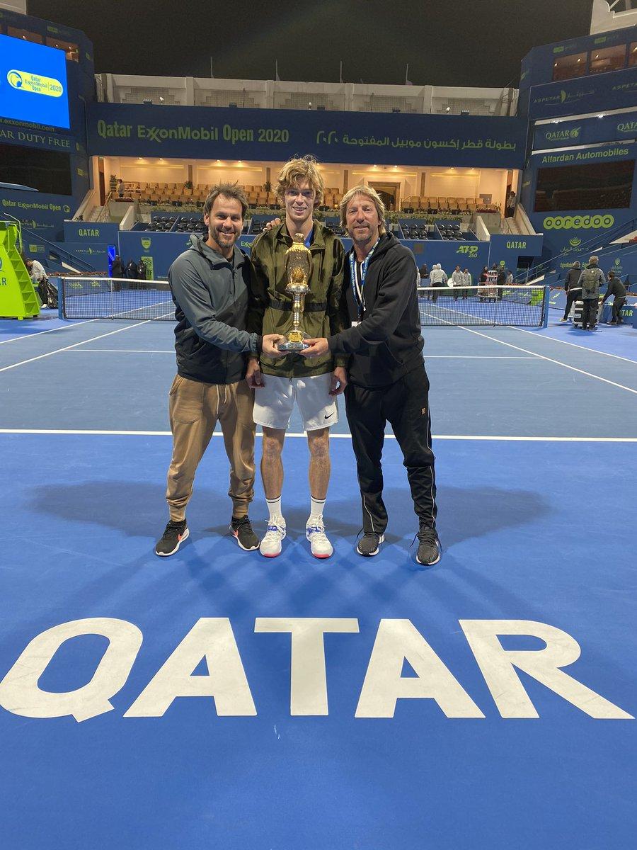 ATP Doha: La finale sorride a Rublev che vince il primo torneo dell'anno