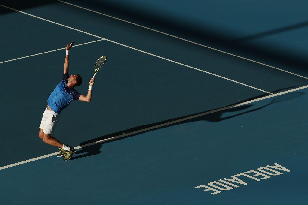 ATP Adelaide: Eliminato Caruso nelle qualificazioni, parte il torneo