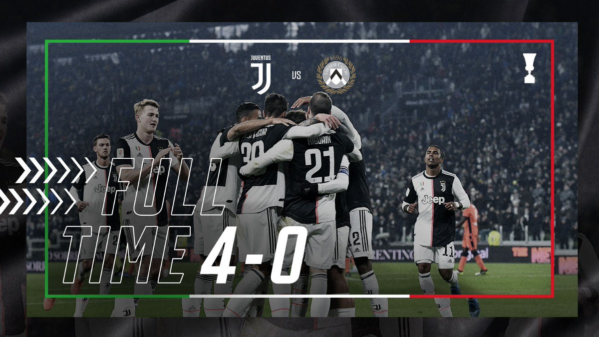 La Juventus strapazza La malcapitata Udinese 4-0