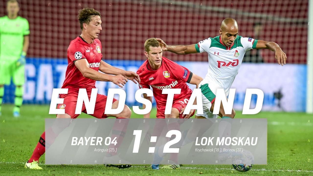 Champions League - Colpaccio Lokomotiv: il Bayer Leverkusen è battuto 1-2