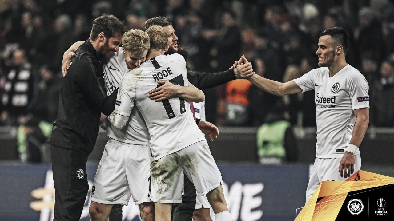 Frankfurt vence na Itália, elimina Inter de Milão e se classifica na Liga Europa
