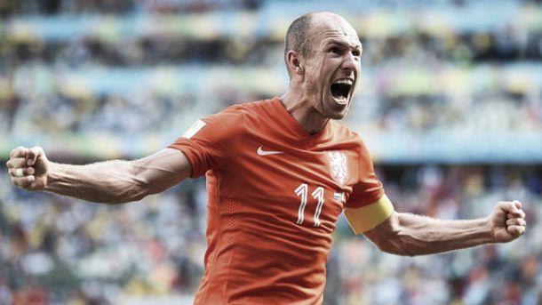 Robben exalta determinação dos holandeses para ir até a final da Copa e esquecer o fracasso de 2010