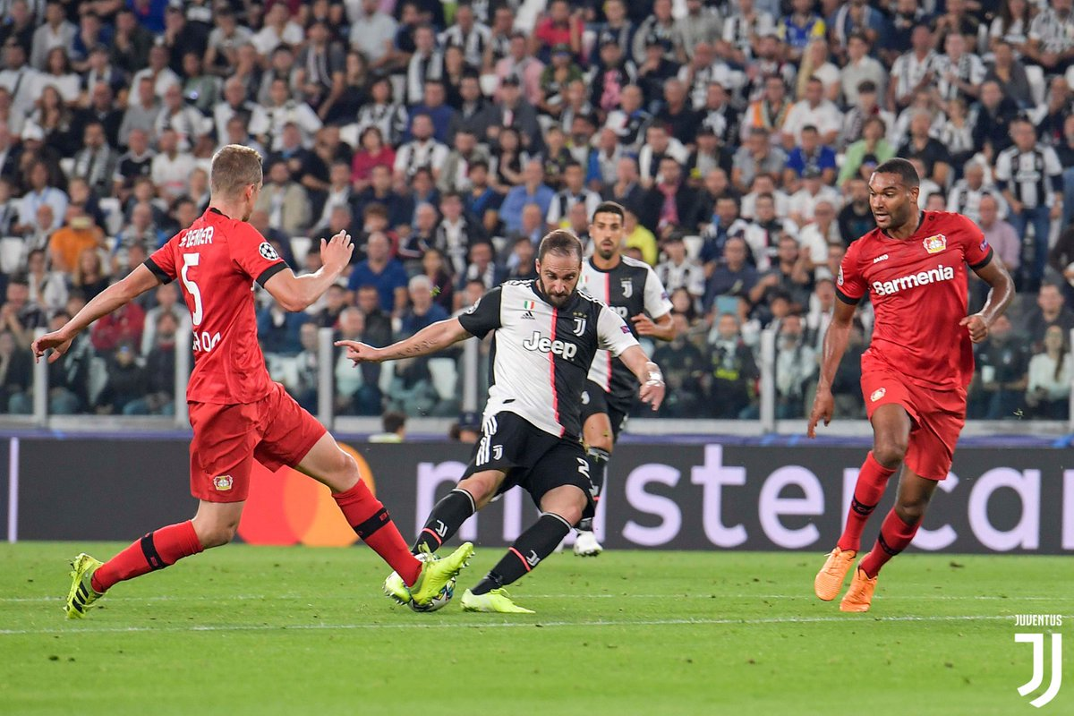 Champions League - La Juventus schianta il Leverkusen: 3-0 all'Allianz Stadium