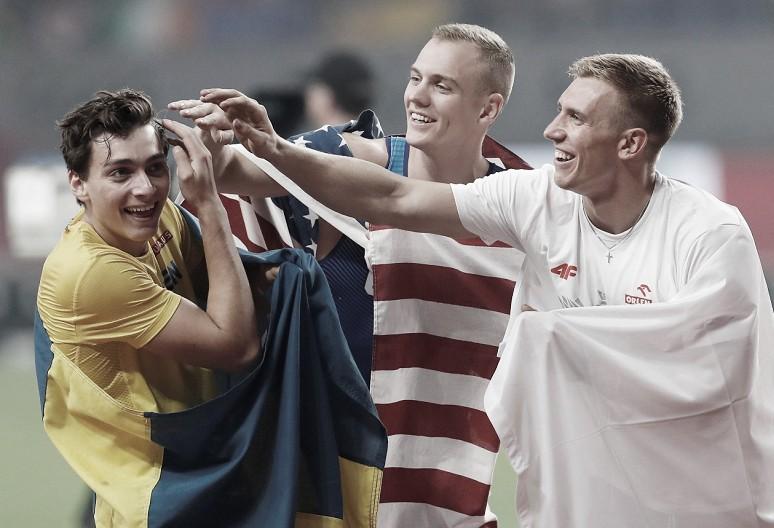Mundial Doha 2019: Sam Kendricks renueva su título frente a Armand Duplantis y Piotr Lisek