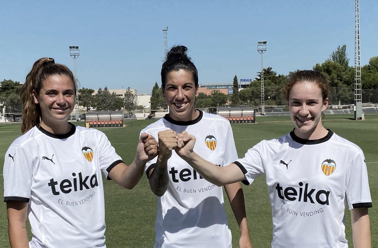 Las capitanas del Valencia Femenino