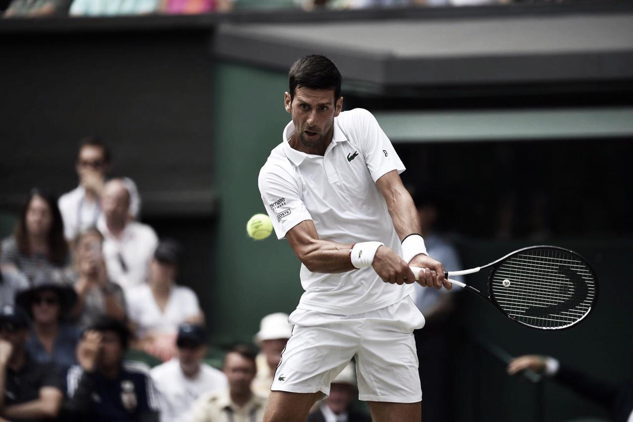 Djokovic vence Bautista-Agut pela semifinal de Wimbledon (3-1)