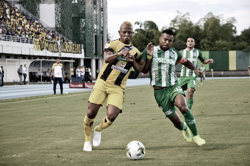 Pálido empate entre Alianza Petrolera y Atlético Nacional