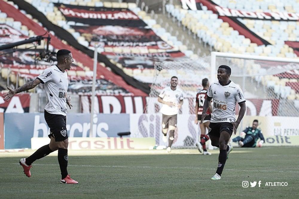 Marcação alta do Atlético-MG supera posse de bola do Flamengo na estreia do Campeonato Brasileiro