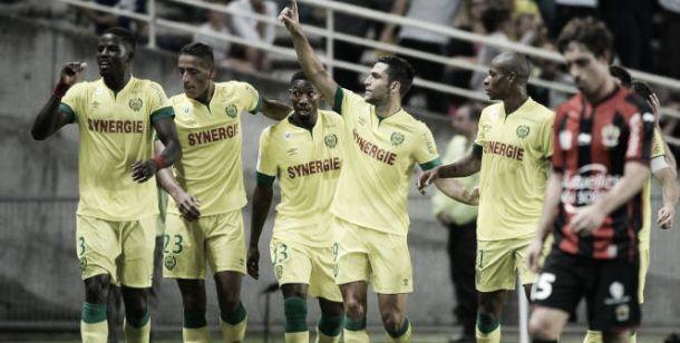 El Nantes se impone a un Niza desdibujado