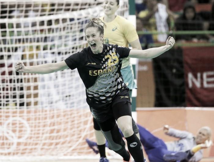 Espanha vence e Brasil perde a primeira no handebol feminino nos Jogos Olímpicos do Rio
