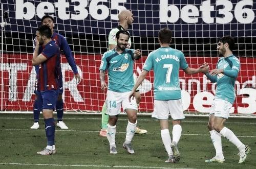 Imagen del último encuentro entre los dos equipos en El Sadar. Fuente: noticiasdenavarra.com