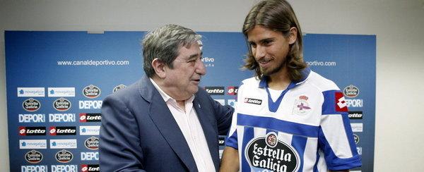 """Tiago Pinto : """"El Dépor es un club muy grande"""""""