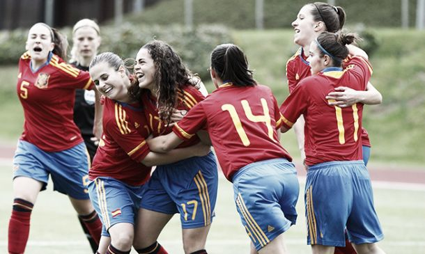 Sub-17 Femenina: España 2 - 1 Irlanda, primer test superado