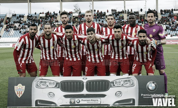 Almería - Lugo: puntuaciones Almería, jornada 25 de la Liga Adelante