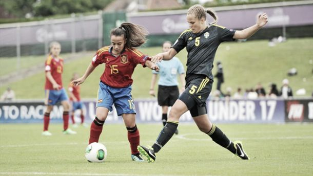 Sub-17 femenina: Rumanía 0-8 España, ciclón en Rumanía