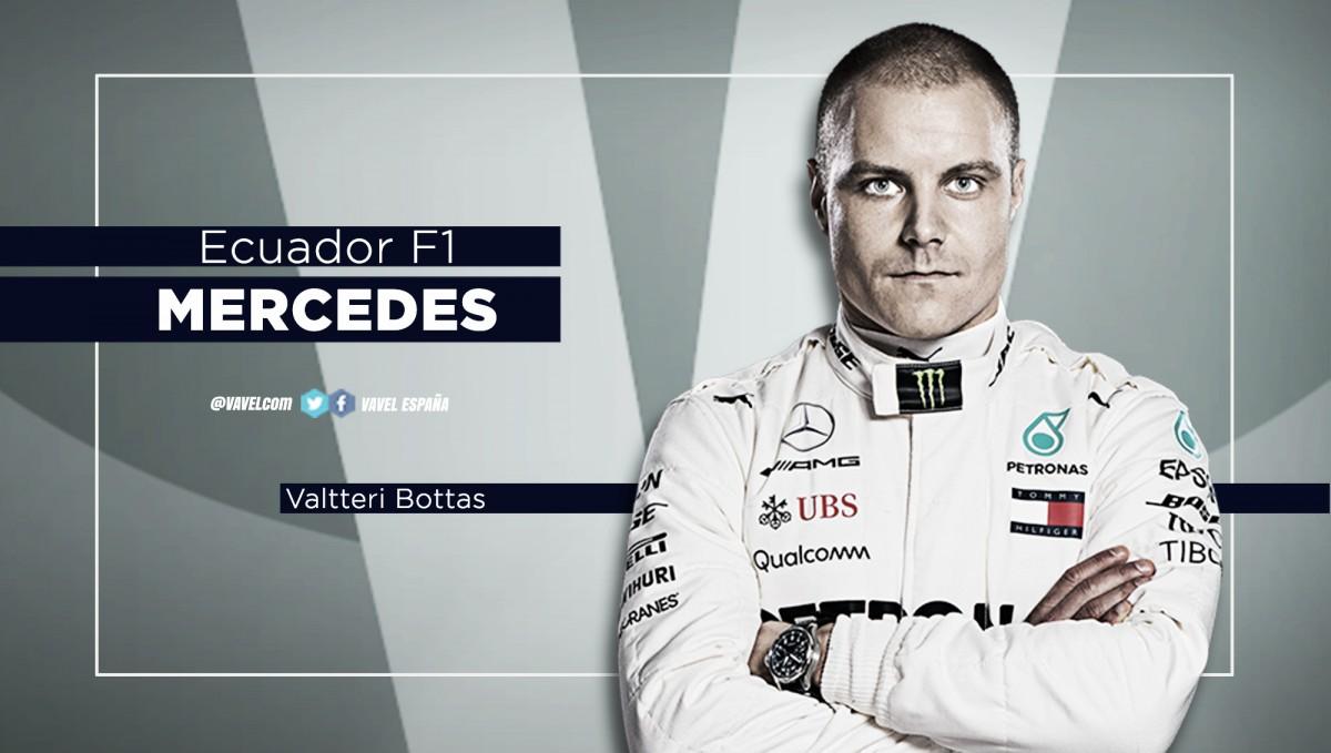 Ecuador Mundial F1: Valtteri Bottas, sin la suerte de cara