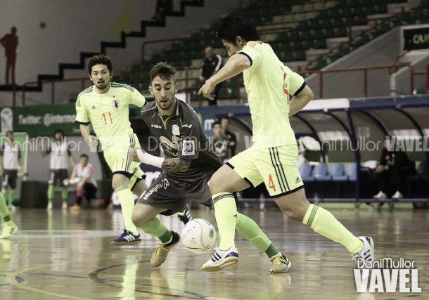 Fotos e imágenes del Inter Movistar 3-3 JFA Selección de Japón Fútbol Sala, amistoso