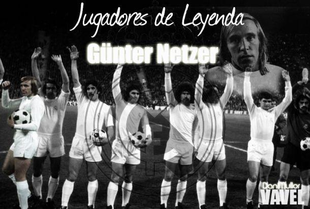 Jugadores de Leyenda: Günter Netzer, Real Madrid 1973-1976