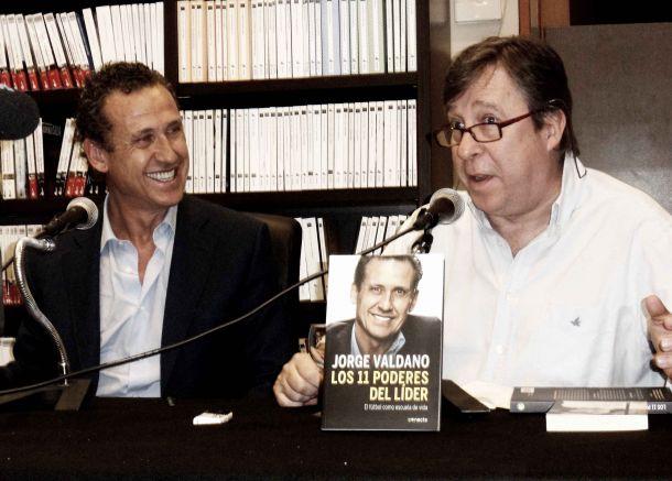 Valdano presenta su último libro, 'Los 11 poderes del líder'
