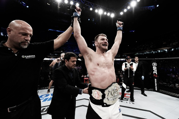 Stipe Miocic defende cinturão dos pesados no UFC 203 contra Alistair Overeem