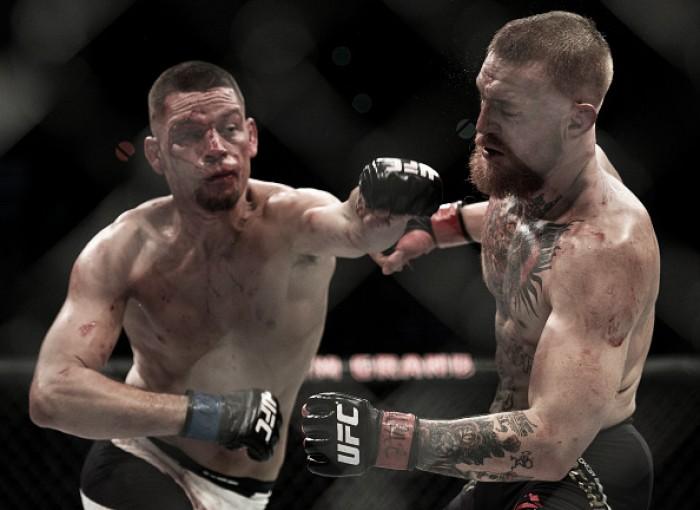 Revanche entre Nate Diaz e Conor McGregor é agendada para UFC 202