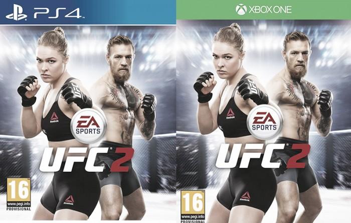 Curiosidade nas capas de games do UFC persegue lutadores da organização