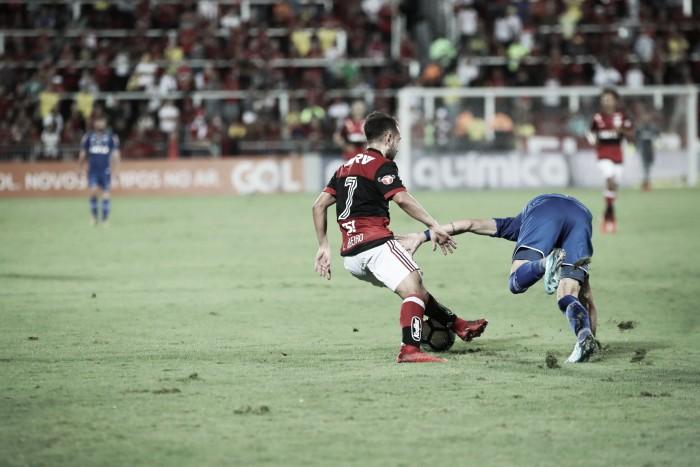 """Éverton Ribeiro sobre a vitória contra o Cruzeiro: """"temos que jogar dessa maneira os 90 minutos"""""""