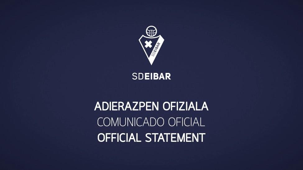 La SD Eibar presenta un positivo por COVID-19 en la primera plantilla