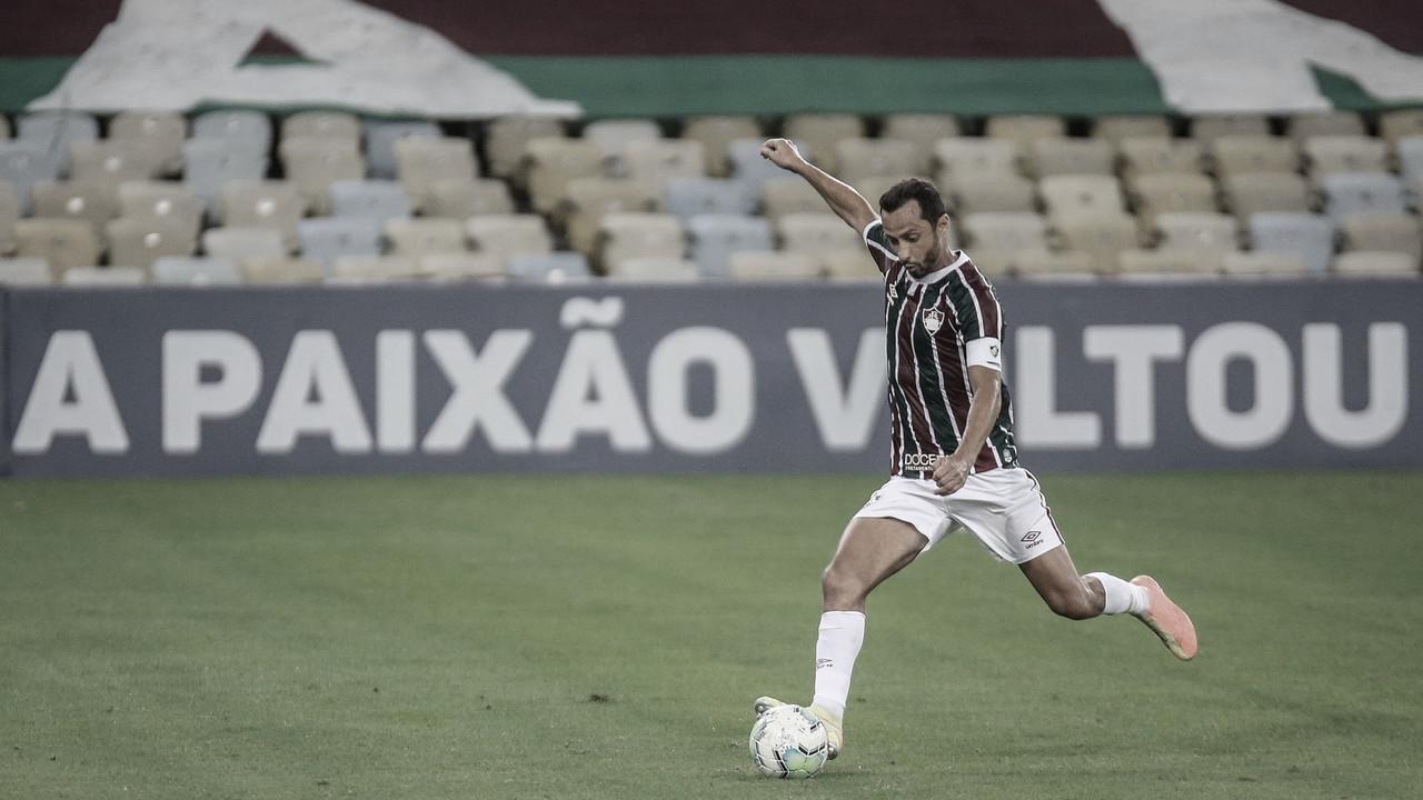 Após primeiro tempo ruim, Fluminense se recupera e busca virada merecida contra Internacional