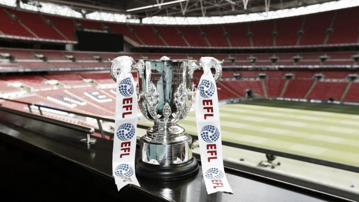 Liverpool handed trip to Championship side Derby County in EFL Cup third round