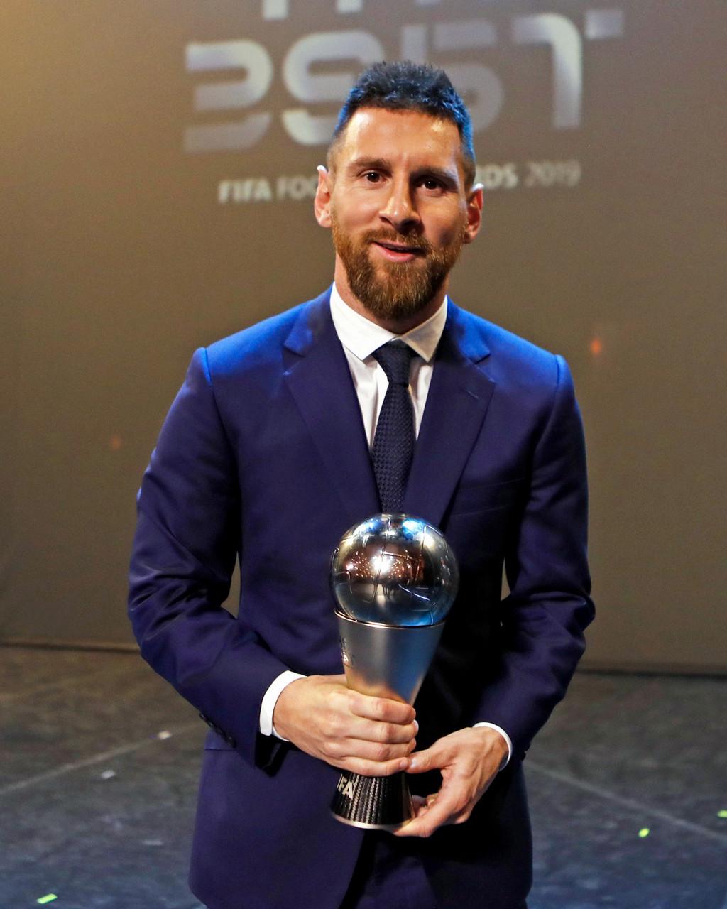Messi conquista el 'The Best'
