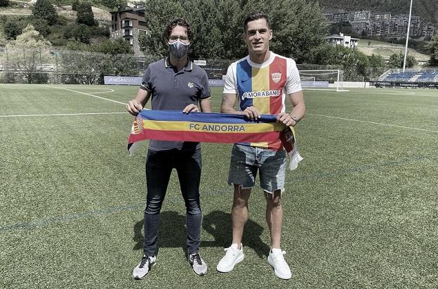 Marc Pedraza apuntala la medular del FC Andorra