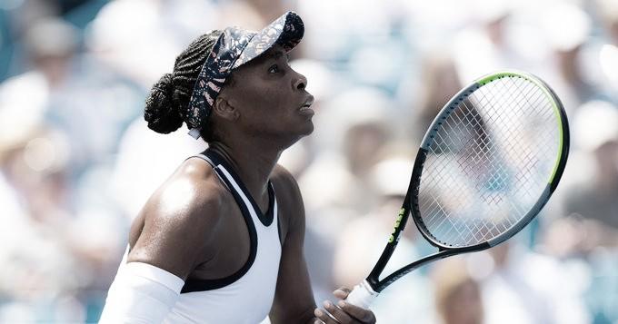 Venus Williams vence Strycova em sua estreia no China Open