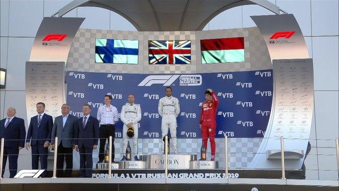Formula 1, Gp di Russia - Le pagelle