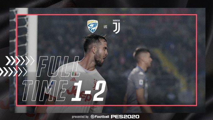 Primi segni di sarrismo:il Brescia sfiora l'impresa contro la Juventus ma alla fine la risolve Pjanic (1-2)
