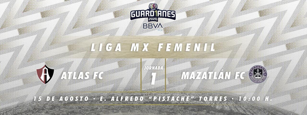 Previa Atlas Femenil vs Mazatlán Femenil: bienvenidas a la Liga MX Femenil