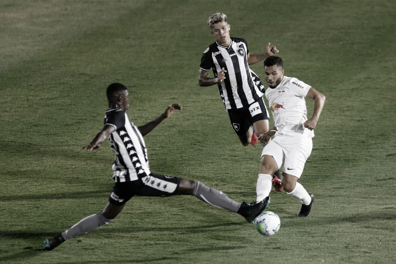 Red Bull Bragantino explora marcação frouxa, mas Botafogo busca empate