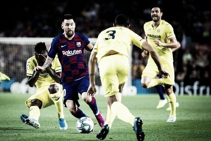 Instável, Barcelona desafia embalado Villarreal para manter chances de título