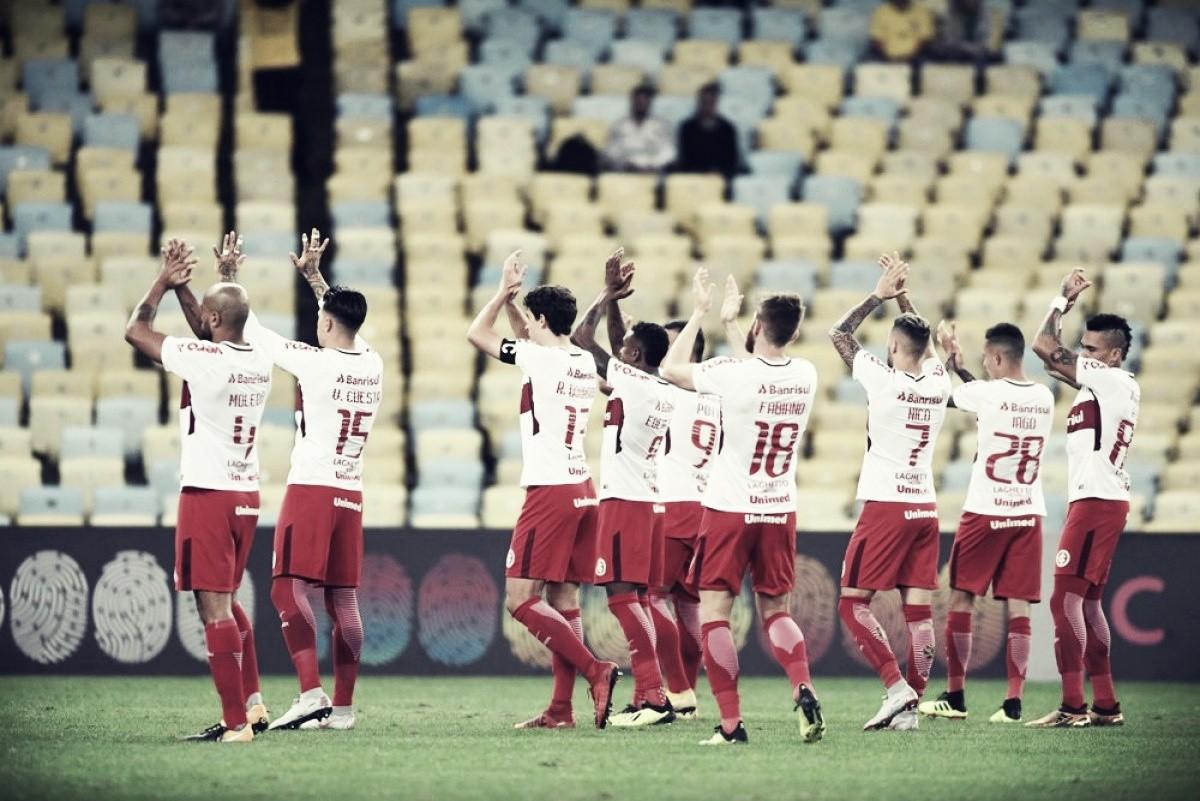 Lomba e Pottker destacam atuação do Internacional na goleada contra Fluminense