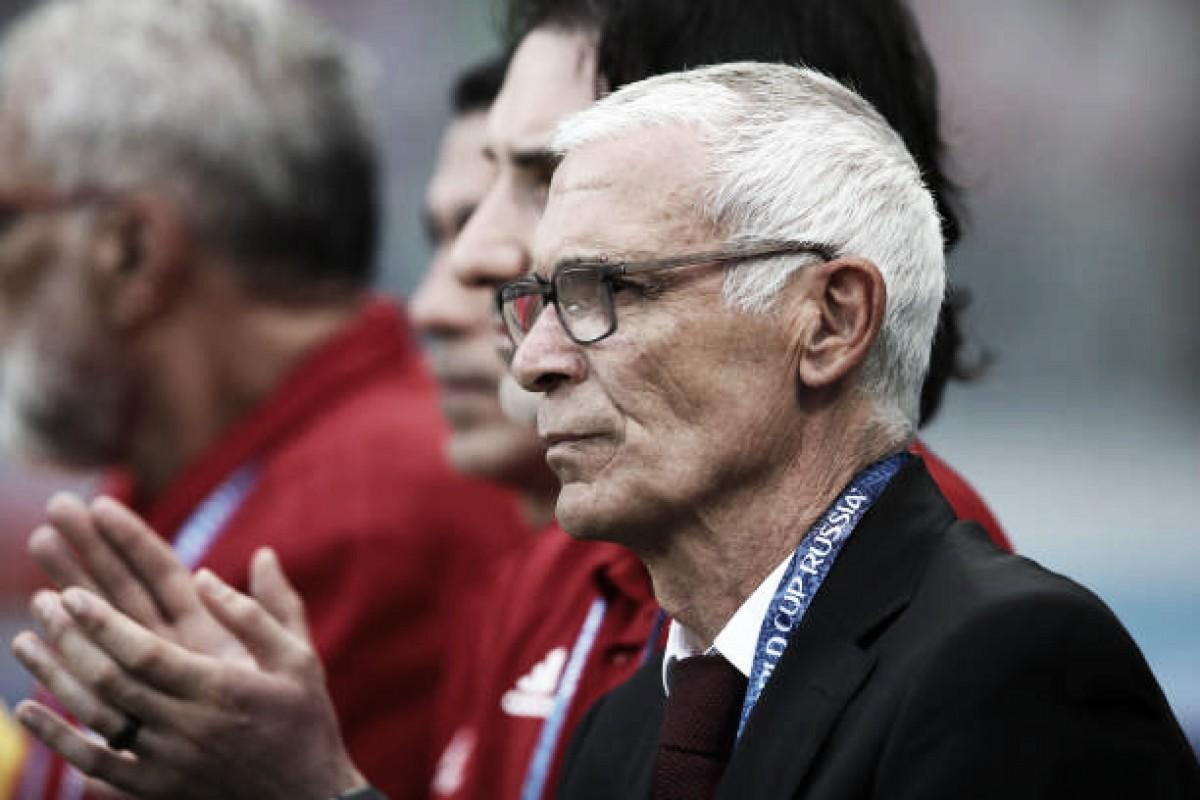 Após derrota do Egito,Héctor Cuper conta: ''Estávamos preparados para ganhar o jogo''