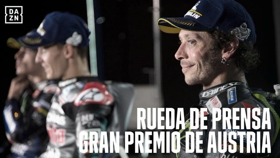 Rueda de prensa del Gran Premio Austria I 2020