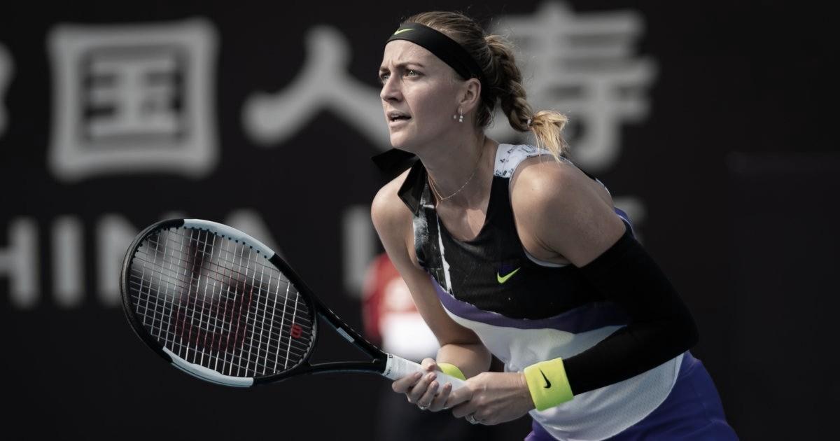 Kvitova passa fácil por Mladenovic e enfrenta Bencic nas oitavas do China Open