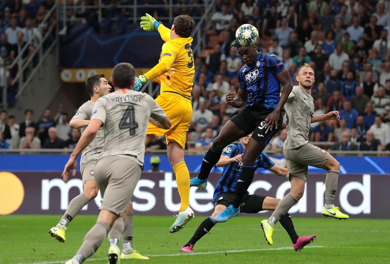 Champions League - Beffa Atalanta: lo Shakthar vince 2-1 al 95'