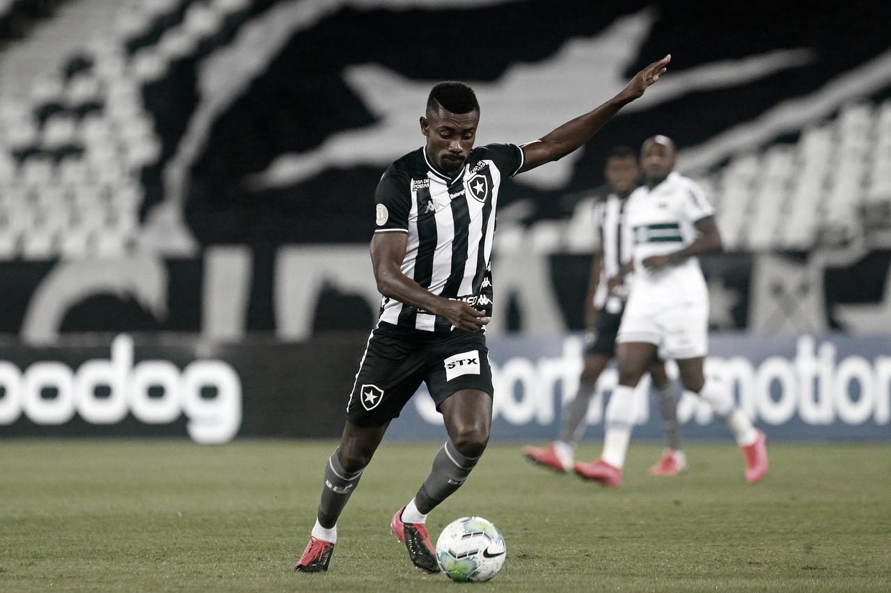 Em jogo concentrado no meio-campo, Botafogo e Coritiba não são eficientes e empatam sem gols