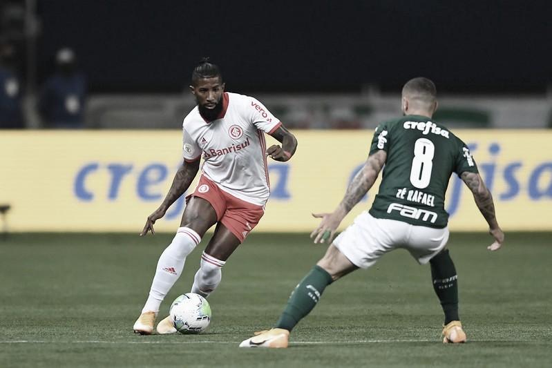 Palmeiras e Inter empatam no Allianz Parque com gols nos acréscimos