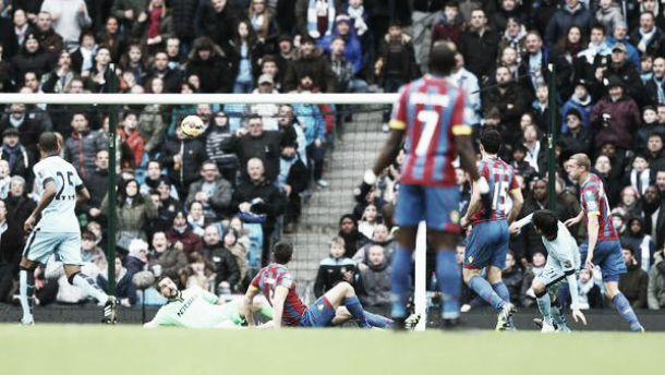Missione aggancio compiuta, il City batte 3-0 il Crystal Palace